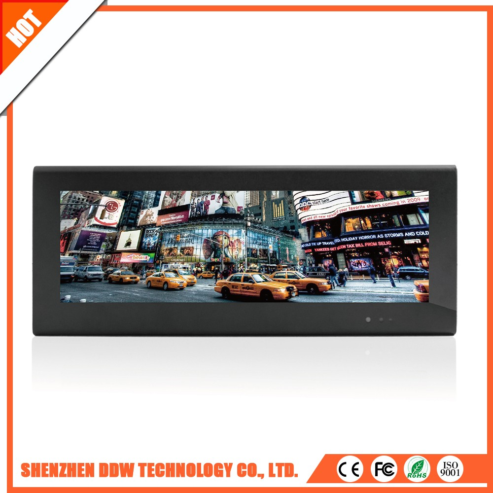 Professional stretched bar tft lcd display monitor with CE certificate