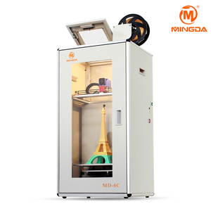 High precision good price MINGDA 3d t-shirt printing machine MD-6C 3d cake printer modeling mobile case printing machine