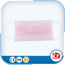 Free sample disposable medical 3 ply earloop face mask with certificate