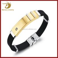 Bulk Custom Fashion Bracelets Silicone Cute Cheap Jewelry