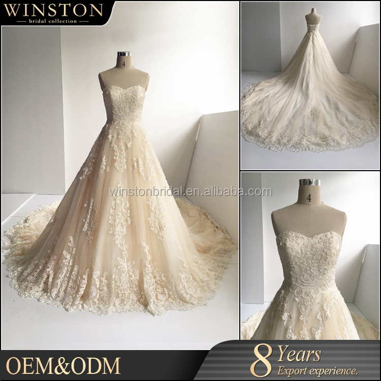 supply all kinds of women white and gold wedding dresses
