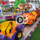 Kids Game Amusement Park Playground Equipment Indoor Overpass Electric Train Set Ride Mini Shuttle