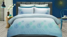 Wholesale Embroidered Bedding Set,Microfiber Quilt Cover Set