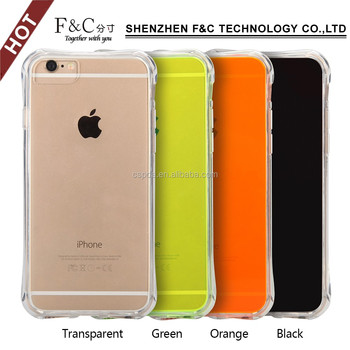 High performance shockproof PC+TPU Protective Full Body Case for iPhone 7 mobile with different colors