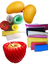 Colorful Fruit Plastic Foam Packaging Net Protective Netting Sleeves Fruit Cover Net