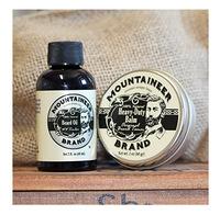 Beard Balm and Beard Oil Kit For Fashion Man