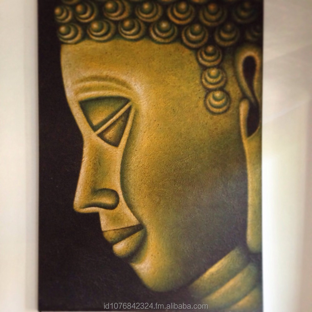 Big Buddha painting Acrylic