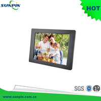 Multifunction video advertising 12 inch digital photo frame