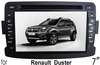"(for Renault Duster) 7"" HD digital in-dash car GPS DVD player, with TV,radio, bluetooth, iPOD"