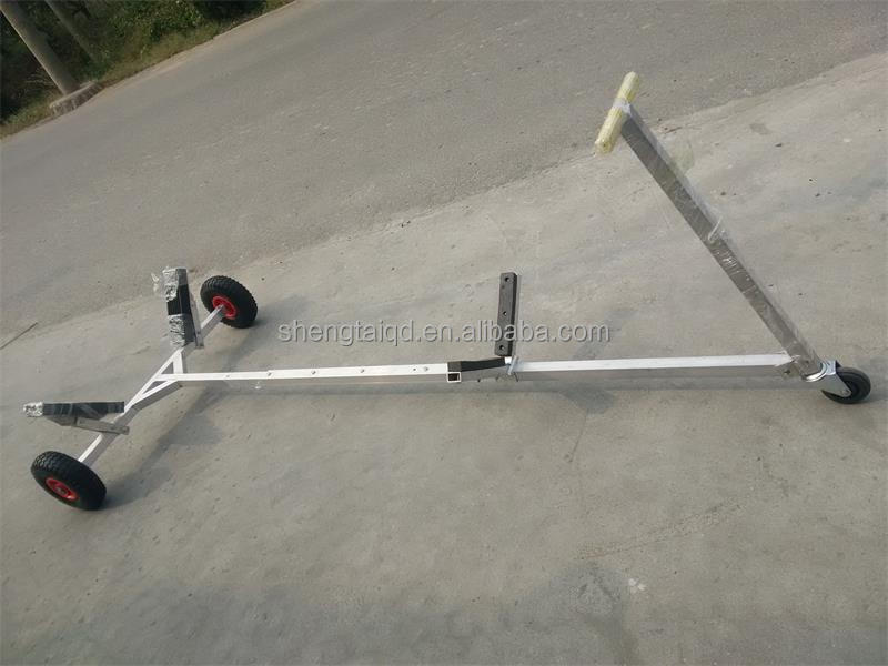 factory sale stainless steel inflatable boat trailer
