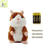 high quality educational toys chatimal the talking hamster plush animal toy home