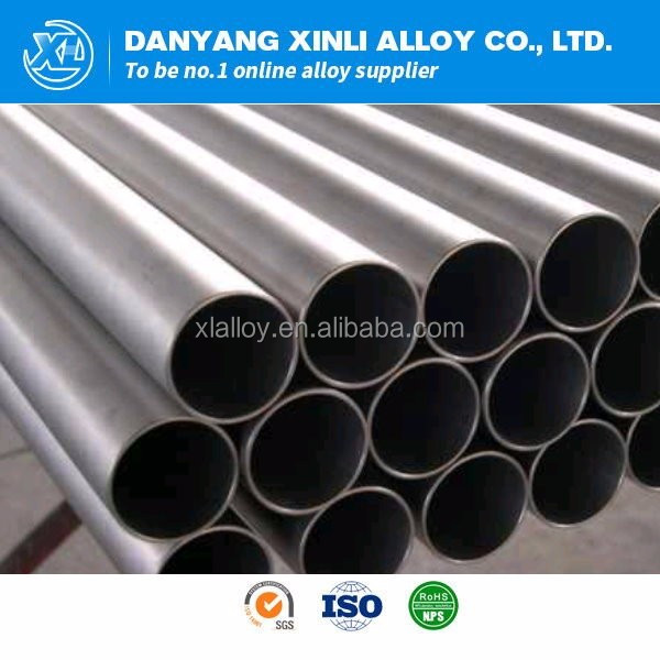 Inconel 718 price nickel alloy seamless pipe / tube