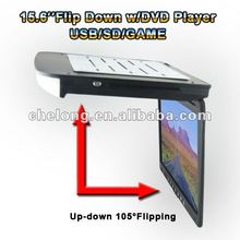 2012 hot 15.6 inch TFT LCD car dvd player
