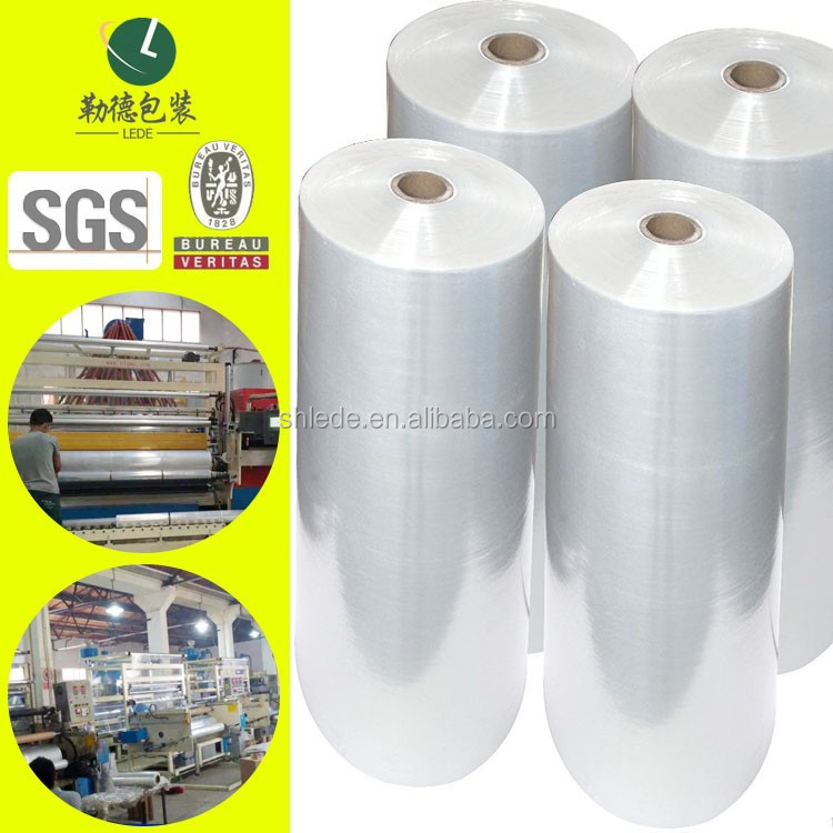 1/4/6 Rolls Hand Pallet Shrink Wrap LLDPE Stretch Film