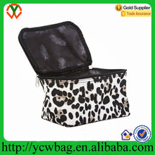 Wholesale Cheap Black Print Cosmetic Makeup Case