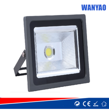 50W IP65 gold diamond COB led floodlight with reflector