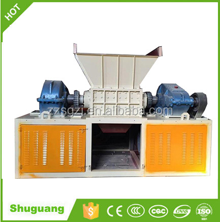 plastic shredder/paper and carton recycling machine/wasted paper shredder