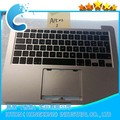 "Upper Top case For Macbook Pro 13"" A1502 2013 Topcase Palmrest US/UK keyboard 2014 year"