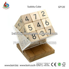 wooden puzzles brain teasers Sudoku Cube