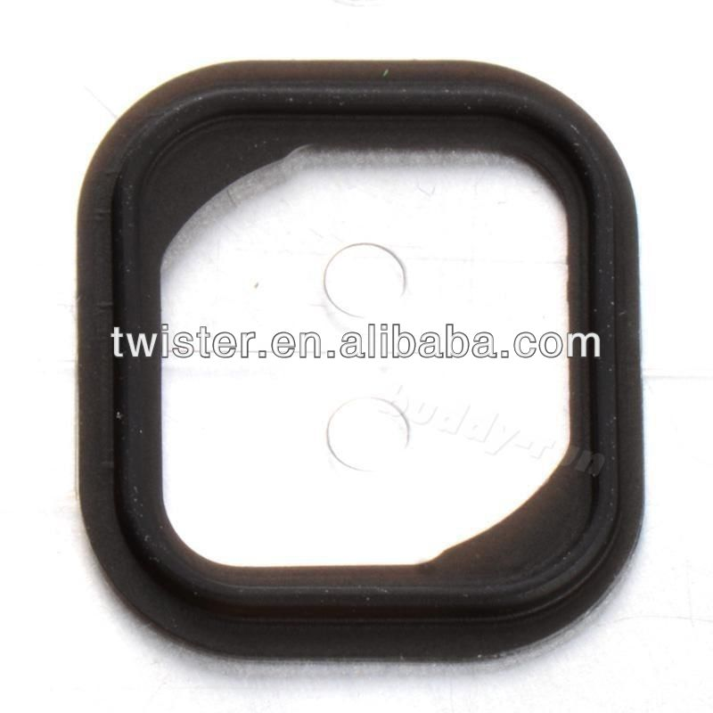 Replacement Rubber Gasket Home Button Holder Adhesive Sticker for iPhone 5S