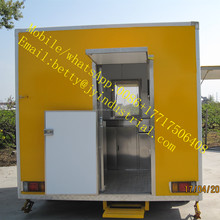 New outdoor food kiosk new model mobile cart for ice cream new mobile outdoor food kiosk