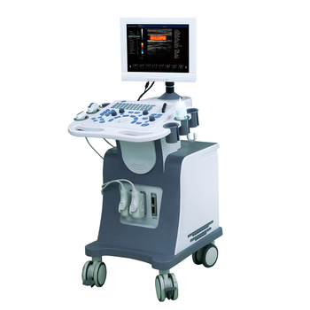 3D 4D color doppler Ultrasound scanner with trolley DW-C80