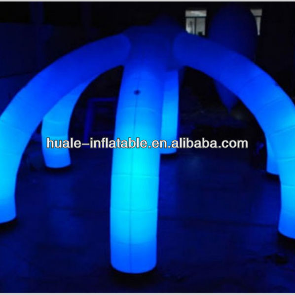 Wedding decoration inflatable lighting arch