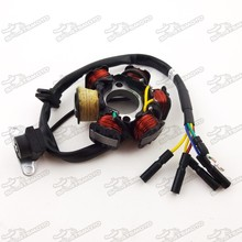 Dirt Bike Motorbike Parts Yinxiang Magneto Lighting Coil Stator For YX140cc Electric Start Engine