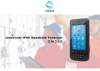 Android industrial smartphone with barcode scanner PDA