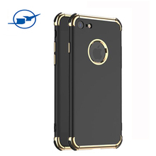 mobile phone accessories, magnetic anti-droping phone case for Iphone 6/7 6 plus/7 plus 2 in 1 case phone cover