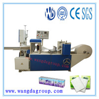 210mmx210mm Mini-face/ Handkerchief / Pocket Tissue Folder Machine with Embossing,Mini type face tissue machine (MTFT-210-II)