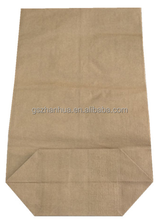 Paper yarn bag for dehydrated vegetable products, high quality and against moisture
