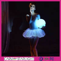 luminous ballet tutu dance costume uk