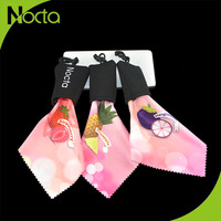 Manufacturer Supplier Microfiber Cleaning Cloth in Pocket with logo Print for wholesale