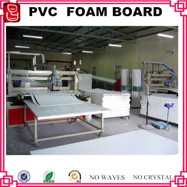 1220*2440mm smooth and rigid pvc foam board/4 x 8 ft 15mm pvc foam board white color