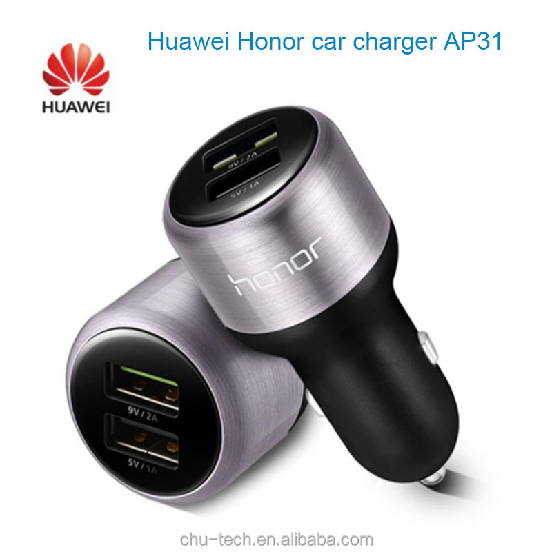 Original HUAWEI P9 Car Fast Charger Dual USB Supercharge 9V2A Super Charge 2A Type-c Cable nova lite honor 8 V8 V9 Type C Cabel
