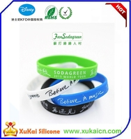 Sport silicone wristband for sale Print