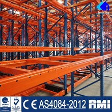 High Densiity Cold Warehouse Electronic Racking System Mobile Shelves