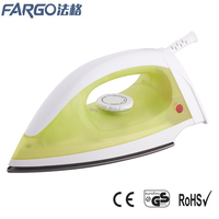 Fargo cheap plastic household dry iron electric iron PL-172D