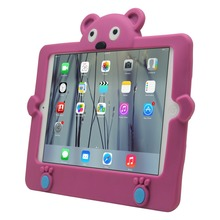Panda cartoon style Anti-shock 8 inch tablet silicone case for ipad mini1/2/3