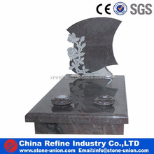 cheap cemetery new style granite tombstone