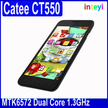 5.5 inch MTK6572 Dual Core Smartphone Catee CT550 Android 4.2 Mobile phone 4GB ROM QHD 3G GPS Bluetooth Wifi Dual Sim WCDMA