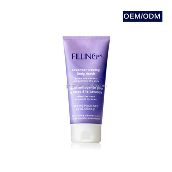 Private Label Natural Lavender Oil Smoothing Refreshing Antiseptic Body Wash