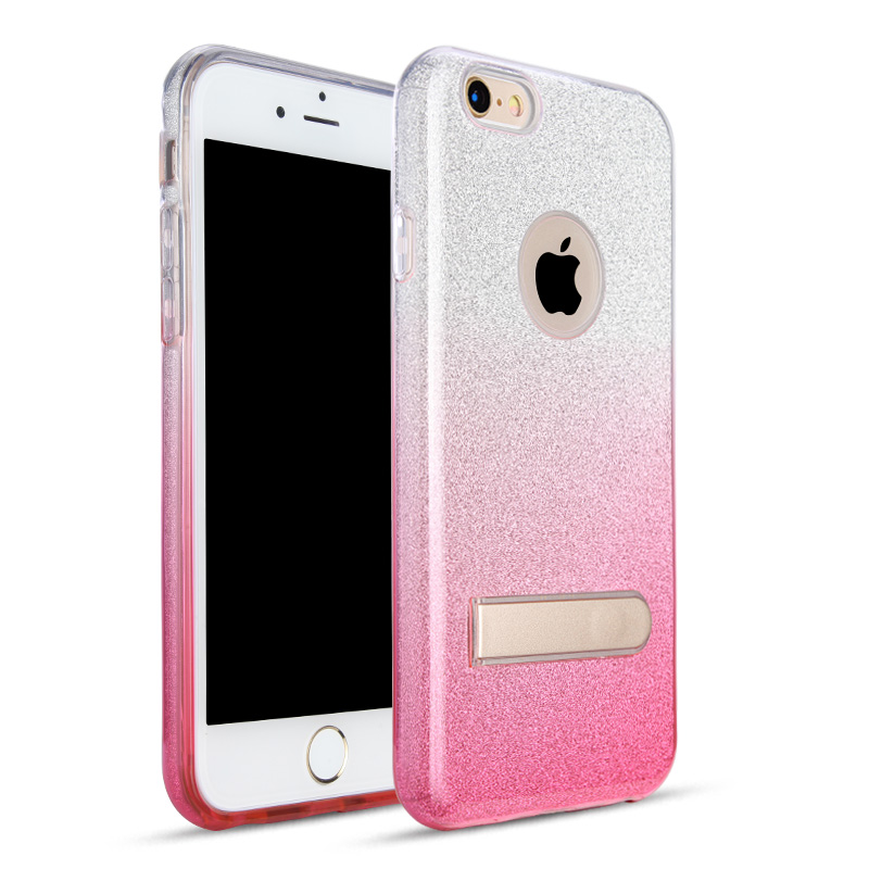 For <strong>iPhone</strong> 7 /7 Plus Bling Sparkle Glitter Luxury TPU Cover Case with Stand