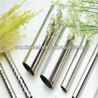 316 stainless steel welded pipe/tube used for decoration
