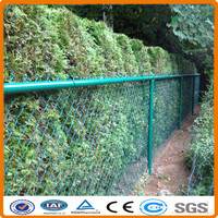 Galvanized PVC Coated Cyclone Wire Mesh Fence