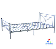 Modern cheap metal frame twin platform bed for adults wholesale