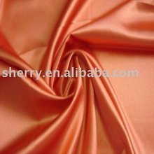 soft and comfortable satin 100% polyester peach satin for shoes and cloth