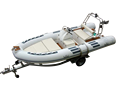 4.8m Rib Inflatable Boat, Inflatable Boat, Rigid Inflatable Boat