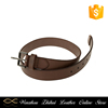 New products unique design brown luxury fashion cheap man belt